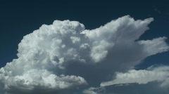 Time Lapse Cumulo Nimbus Clouds Stock Footage