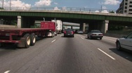 Stock Video Footage of in Heavy traffic