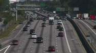 Stock Video Footage of Lanes of Traffic 2