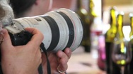 Wedding Photographer Stock Footage