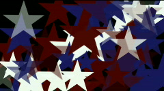 Stars dream vision idea creativity vj USA United States background. Stock Footage