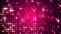 Pink Circles Pulsing With Sparkles - stock footage