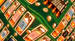 Circuit Board Pan and Scan - Clip 16 Stock Footage