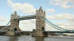 Tower Bridge - stock footage