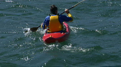 Kayak 01 Stock Footage