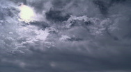 Timelapse nuages 2 Stock Footage