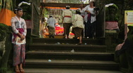 Stock Video Footage of Bali Temple Ceremony 44