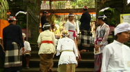 Stock Video Footage of Bali Temple Ceremony 42