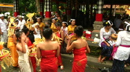 Stock Video Footage of Bali Temple Ceremony 41