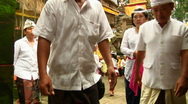 Stock Video Footage of Bali Temple Ceremony 39