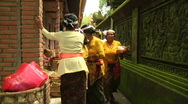 Stock Video Footage of Bali Temple Ceremony 37