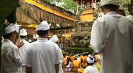 Stock Video Footage of Bali Temple Ceremony 35