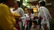 Stock Video Footage of Bali Temple Ceremony 34