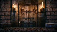 Dungeon Entry Stock Footage