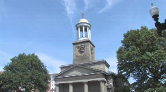 United First Parish Church, Quincy, Massachusetts Stock Footage