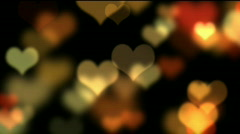 Hearts - stock footage