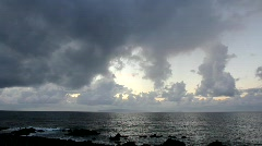 Cloudy Morning with Ocean View (1876) Stock Footage