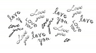 Love words background  Stock Footage