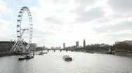 Stock Video Footage of The River Thames