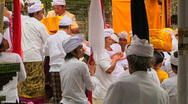 Stock Video Footage of Bali Temple Ceremony 54
