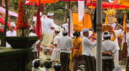 Stock Video Footage of Bali Temple Ceremony 53