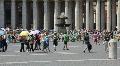 Saint Peter Square, Rome Footage