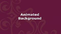 Animated Decorative Background - Maroon Stock Footage