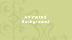 Animated Decorative Background - Mustard Yellow - stock footage