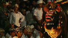 Village Barong 5 Stock Footage