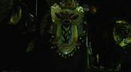 Bali Night Barong 3 Stock Footage