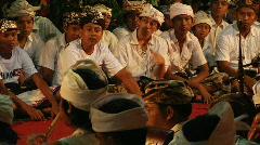 Bali Gamelan Orchestra 1 Stock Footage