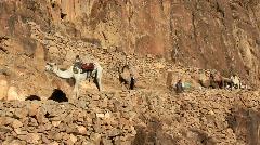 Moses Mountain. Sinai. Egypt - stock footage