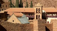 Saint Catherine's Monastery. Sinai Peninsula. Egypt Stock Footage