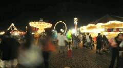 Country Fair - Time Lapse - Clip 7 - stock footage