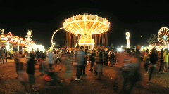 Country Fair - Time Lapse - Clip 6 Stock Footage