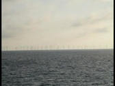 Stock Video Footage of windpark boat 1 1