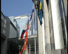European parliament Stock Footage