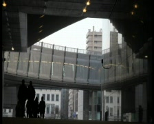 European parliament - stock footage