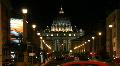 Saint Peter Basilica, Rome Footage