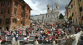 Spanish Steps, Rome HD Footage