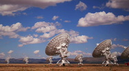 Stock Video Footage of Radar Array Dish Time Lapse
