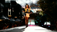 Fashion show featuring forever21 brand products Stock Footage
