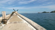 Komodo Boat 4 Stock Footage
