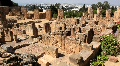 Ruins of ancient Carthage in Tunisia Footage
