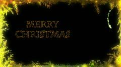 Christmas Card - Christmas 28 (HD) - English Stock Footage