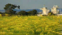 Silo in far.mpg Stock Footage