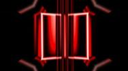 Movie cutter for qartz cristal30short1 Stock Footage