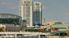 Tampa St. Pete TImes Forum arena area - stock footage