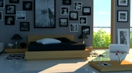 Stock Video Footage of Bedroom D