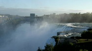 Stock Video Footage of Morning Light at Niagara Falls, NY